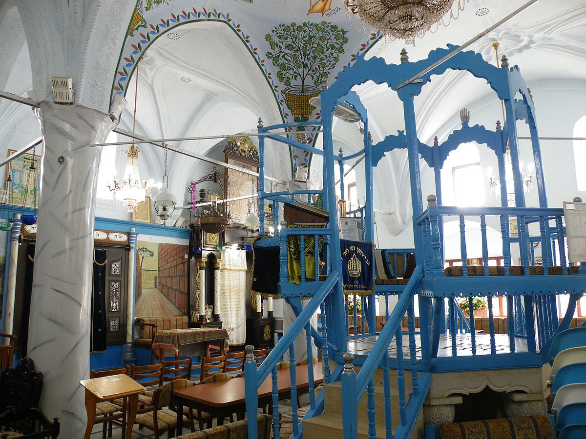 Beit Knesset Abuhav, one of the city's historic synagogues