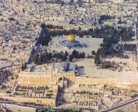 Israel Aerial-Jerusalem-Temple_Mount-Temple_Mount