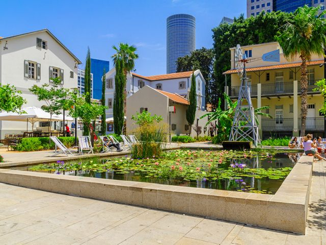 Tel Aviv - Sarona market