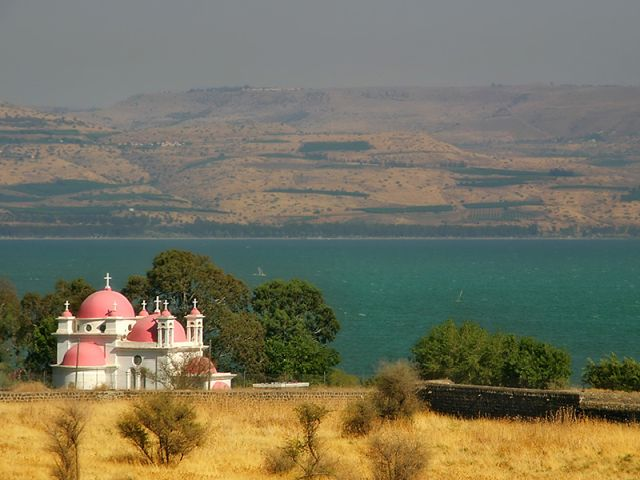 Sea of Galilee - Capernaum
