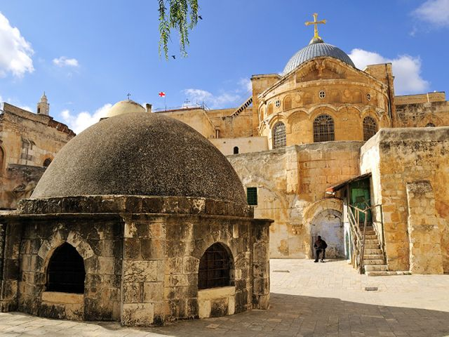 Jerusalem - Church of the Holy Sepulcher
