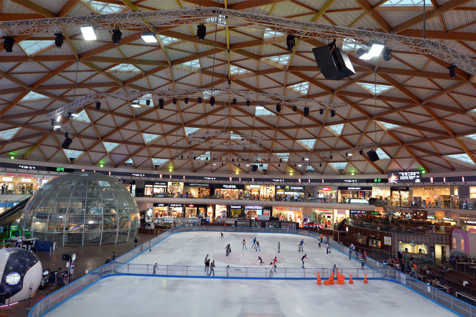 Ice Skating Ring